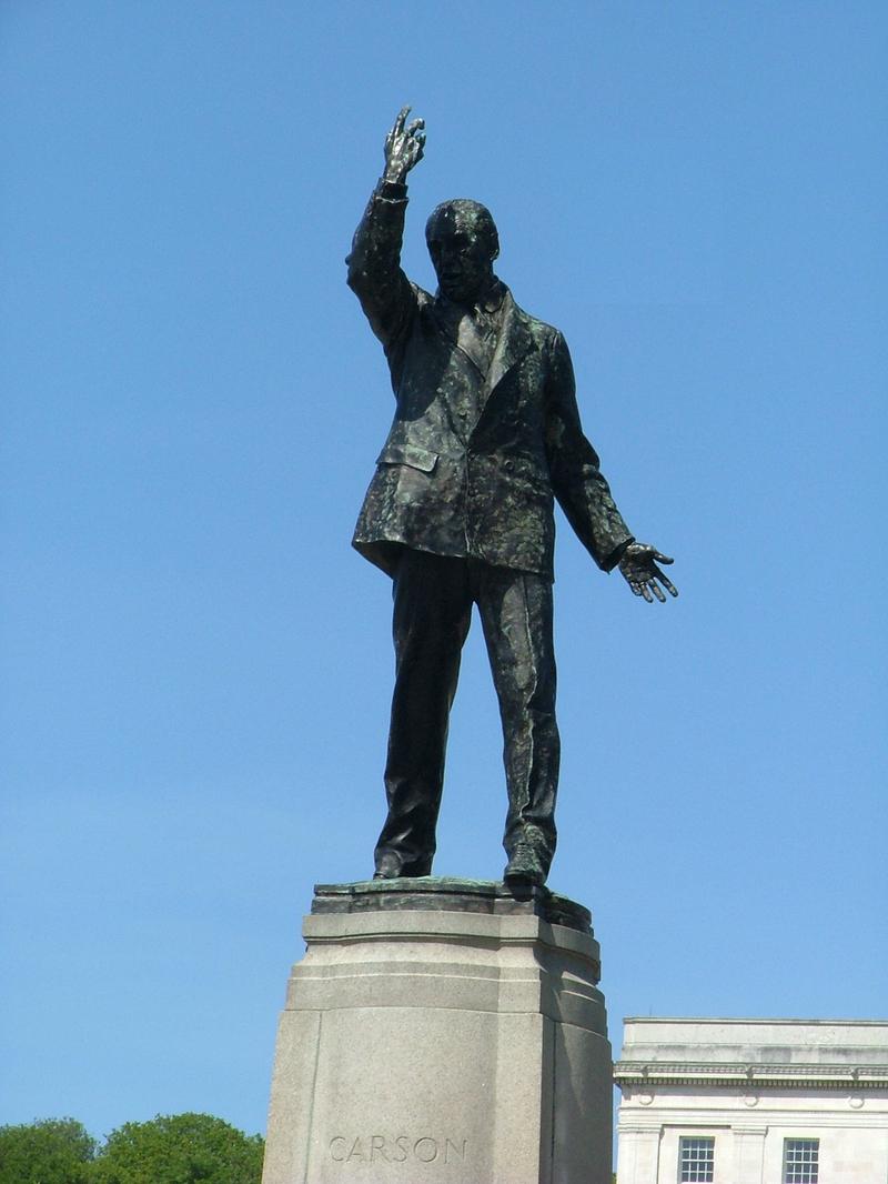 Statue of Edward Carson