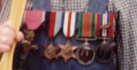 Medals close-up